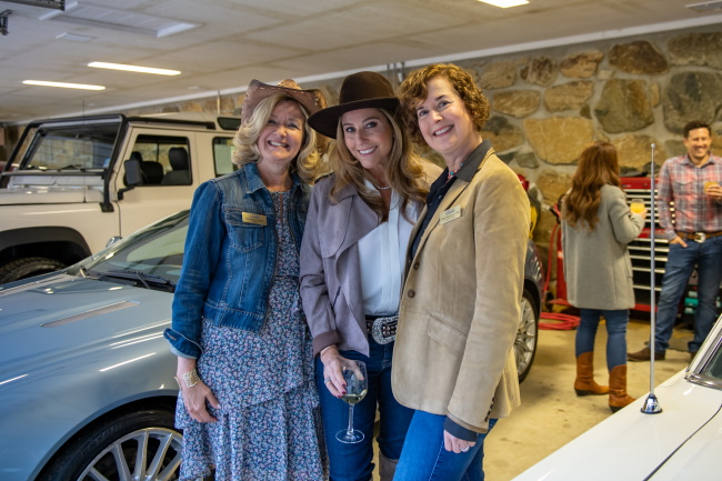 Marianne Devlin, Lauren Yedvab, and Clelia Biamonti