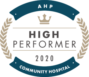 AHP Community Hospital — High Performer — 2020